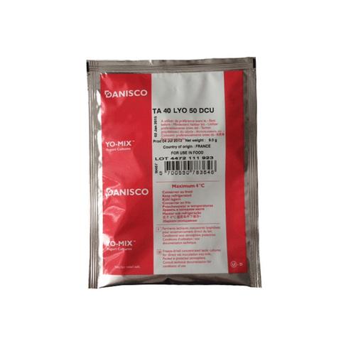 Danisco CHOOZIT TA 40 LYO, 50 DCU, термофильная закваска (на 500-1000 л)