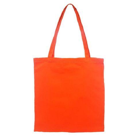 Шоппер оранжевый, 40х37 см