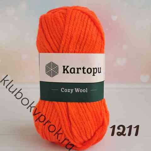 KARTOPU COZY WOOL K1211, Оранжевый