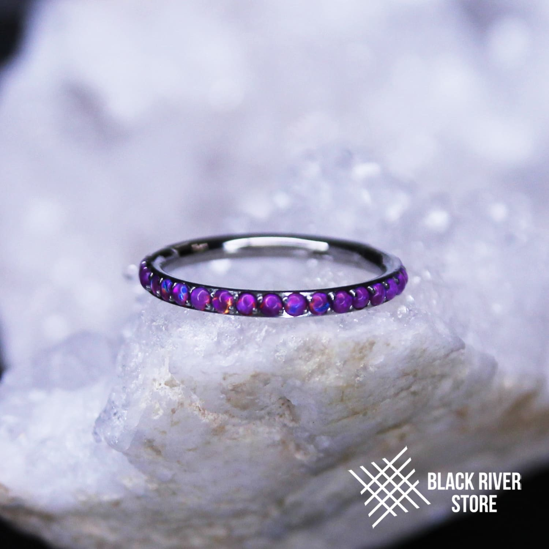 Кликер Twilight Dark Purple Opal #52