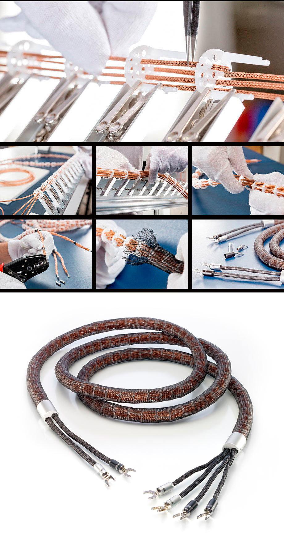 Inakustik Referenz LS-2404 AIR MKII, 2x3.0 m, Tellurium BFA Banana, Single-Wire 007712436