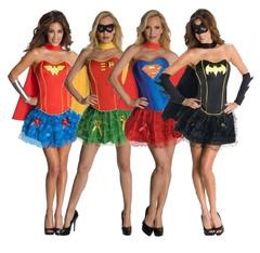 Супергерои женский костюм с корсетом — Superheroes female costume with corset