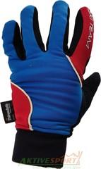 Перчатки лыжные утепленные Ski Team K18004BL черно/синие