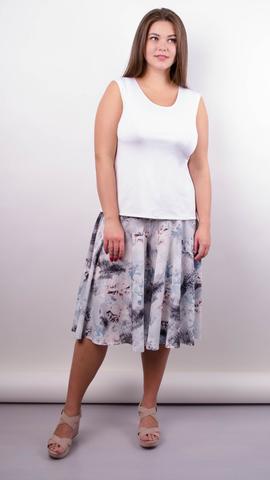 Лолита. Оригинальные шорты-юбка больших размеров. Цветок.
