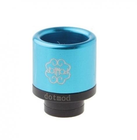 Drip-Tip Dotmod Styled Aluminum + POM Hybrid 17мм голубой