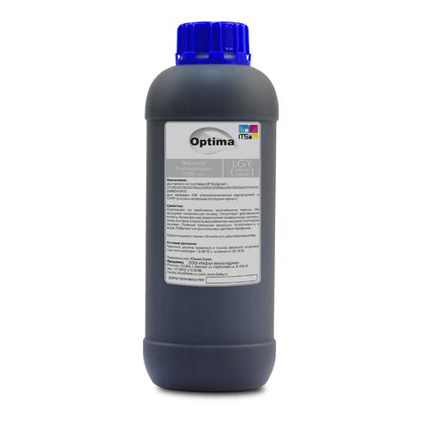 Пигментные чернила Optima для HP Light Gray 1000 мл