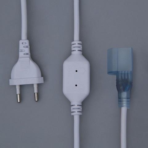 Силовой шнур для подключения гибкого неона 15х25 мм