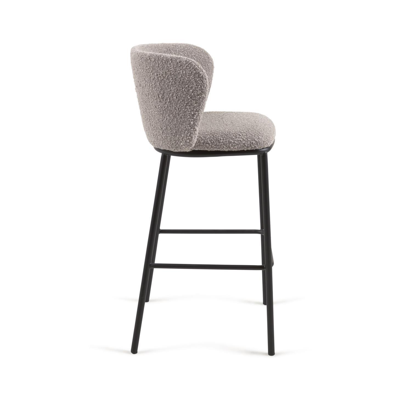 Барный стул Ciselia серый - вид 2