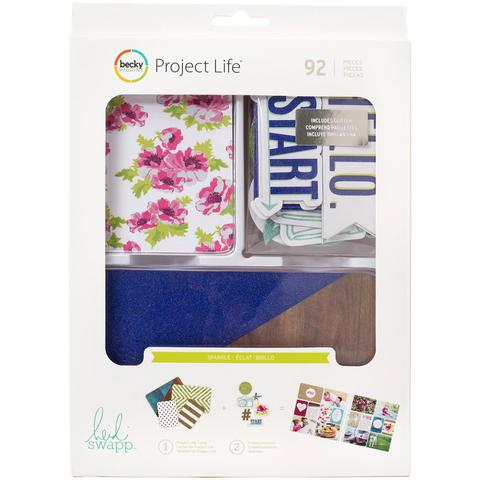 Kit набор карточек и украшений для Project Life 92шт