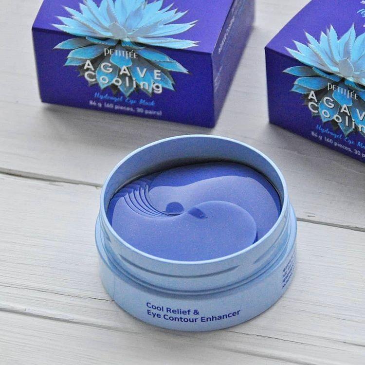 Охлаждающие гидрогелевые патчи с экстрактом агавы Petitfee Agave Cooling Hydrogel Eye Mask купить в Иркутске с бесплатной доставкой