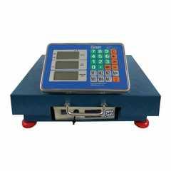 Весы торговые беспроводные ГАРАНТ ВПН-600УБ, LCD, АКБ, bluetooth (блютуз), 600кг, 200гр, 600*500, усиленные, платформенные