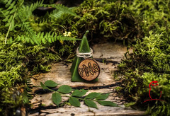 Свеча–ритуал «Финансовый поток» с амулетом