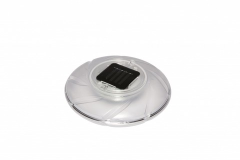 Лампа плавающая на солнечных батареях 18см 58111
