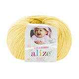 Пряжа Alize Baby Wool желтый 187