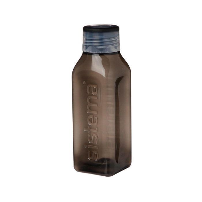 """Бутылка для воды Sistema """"Hydrate"""" 475  мл, цвет Черный"""