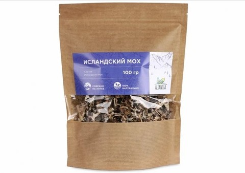 Исландский мох (цетрария, лишайник), трава 100 г
