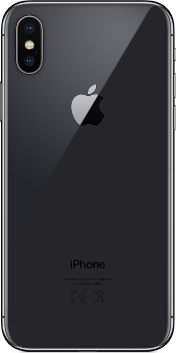 Новый Apple iPhone X 64 ГБ Серый космос (обменка ростест)