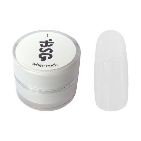 Цветной биогель Bio Stretch Gel White Ench №1 купить за 850руб