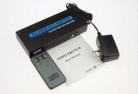 HDMI Switch 5x1 4k*2k + пульт