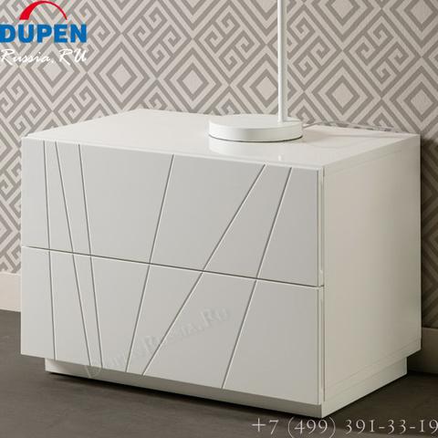 Тумба прикроватная DUPEN (Дюпен) М-137 OCEAN белая