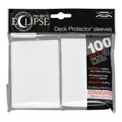 UP Sleeves PRO-Matte Eclipse Arctic White