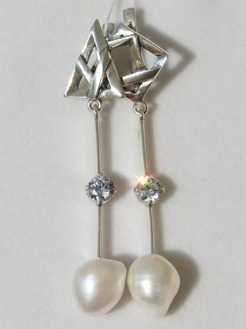 Серебряные асимметричные украшения