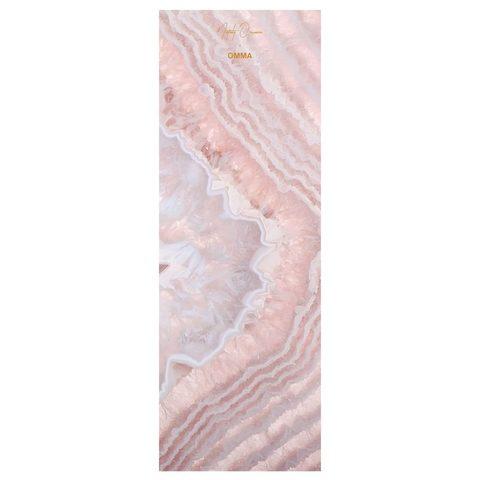 Коврик для йоги Rose Quartz 173*61*0,1-0,3 см из микрофибры и каучука