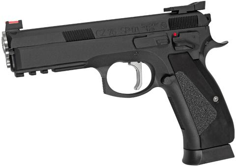 Страйкбольный пистолет CZ SP-01 Shadow ACCU Blowback, металлический, подвижный затвор, СО2 (Артикул 19015)