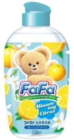 Средство для мытья посуды NS FaFa с ароматом цитрусовых, дозатор, 270 мл