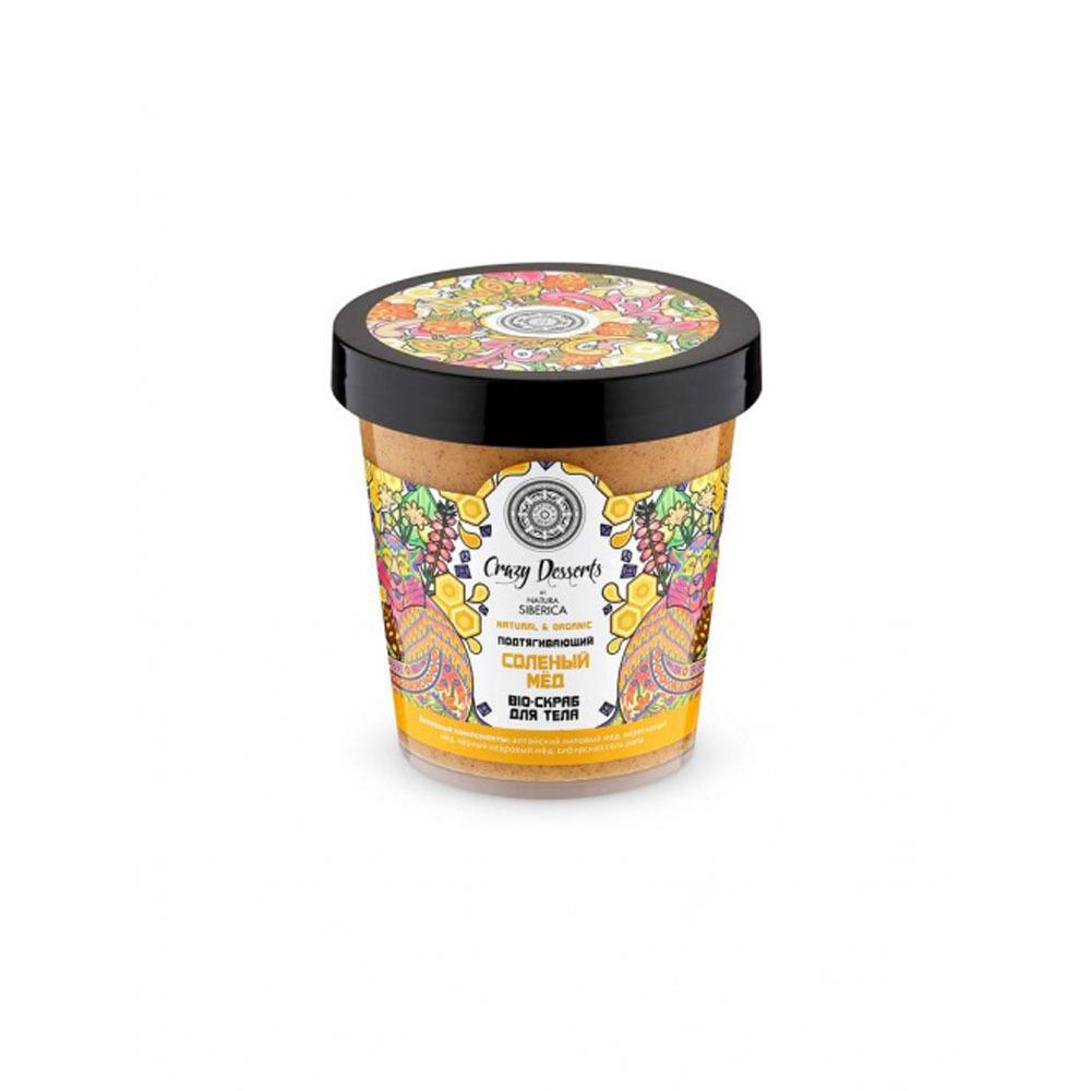 Скраб-bio для тела подтягивающий Соленый мед