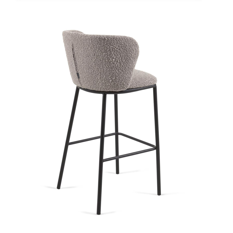 Барный стул Ciselia серый - вид 3