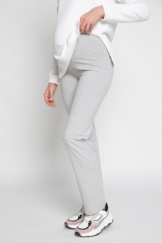 Спортивные брюки для беременных 13066 теплый меланж