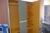 Внутреннее наполнение трехдверного шкафа