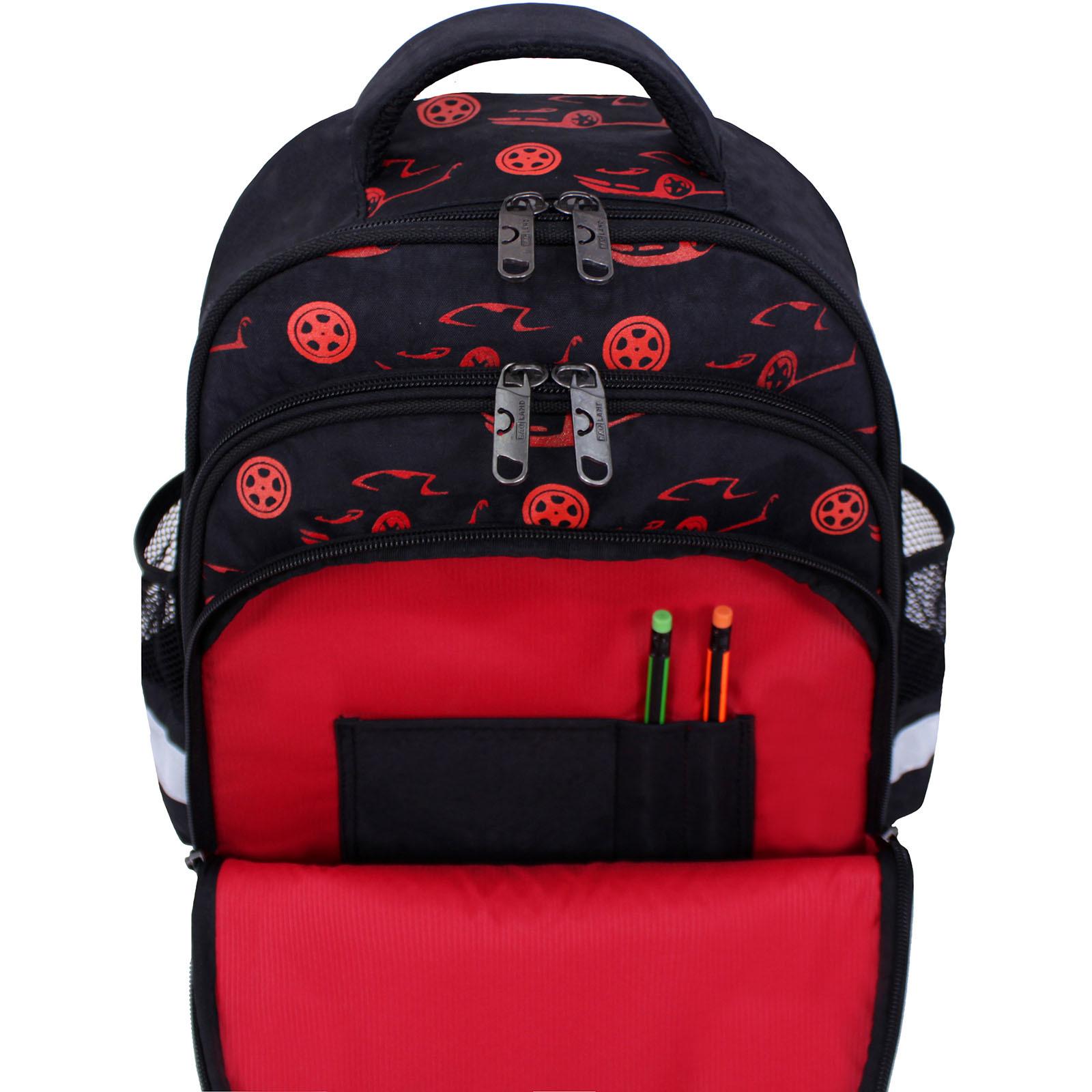 Рюкзак школьный Bagland Mouse черный 417 (0051370) фото 5