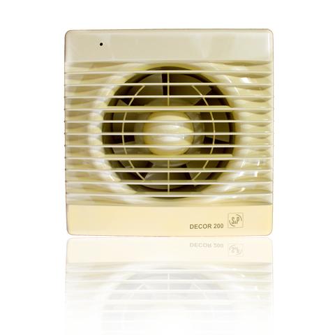 Накладной вентилятор Soler&Palau Decor 200C IVORY