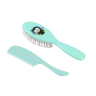 BabyOno - Щеточка для волос с мягкой щетиной, цвет мятный.