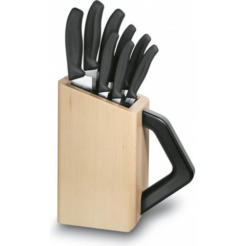 Кухонный набор Victorinox 6.7173.8, восемь предметов, с подставкой