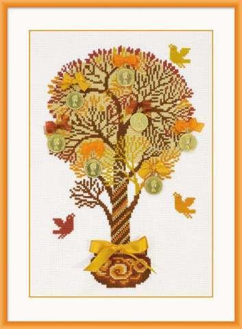 Набор для вышивания крестом «Денежное дерево» (1294)