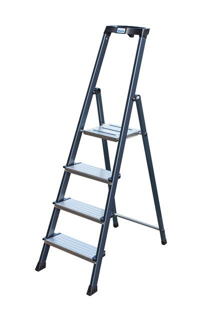 MONTO Лестница-стремянка  SECURO Стремянка, анодированные боковины, 6 ступеней 125 мм