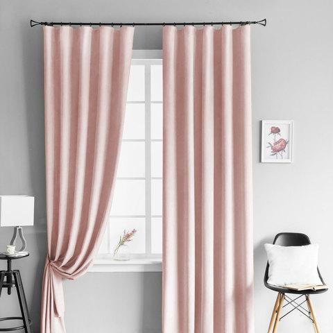 Комплект штор Kriss светлый розовый