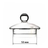 Стеклянная крышка для чайника 53 мм