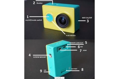 Подводная камера Xiaomi Yi – 88003332291 изображение 2