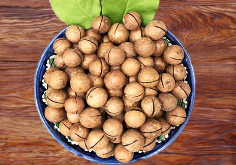 Макадамия орех в скорлупе, мелкий