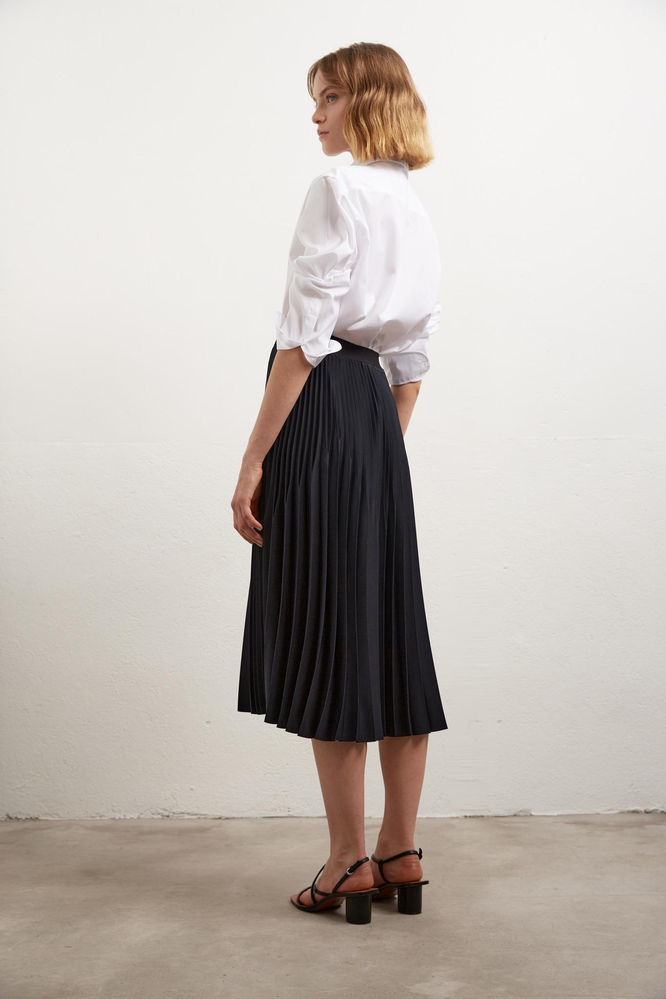 MARZIA - плиссированная юбка-миди