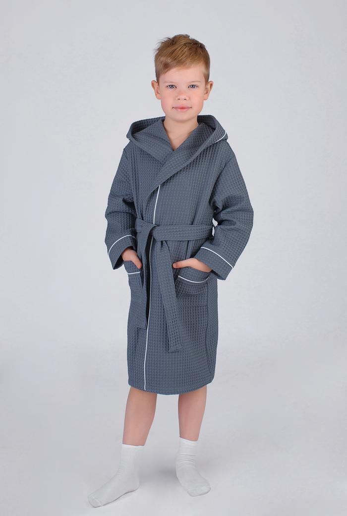 Серый халат для детей