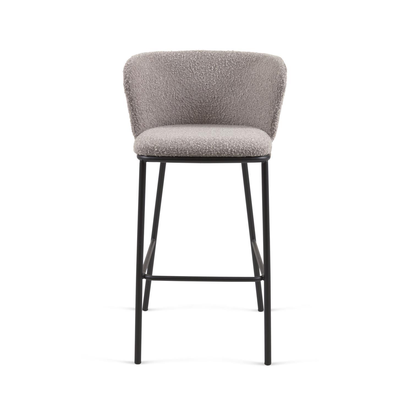 Барный стул Ciselia серый - вид 4