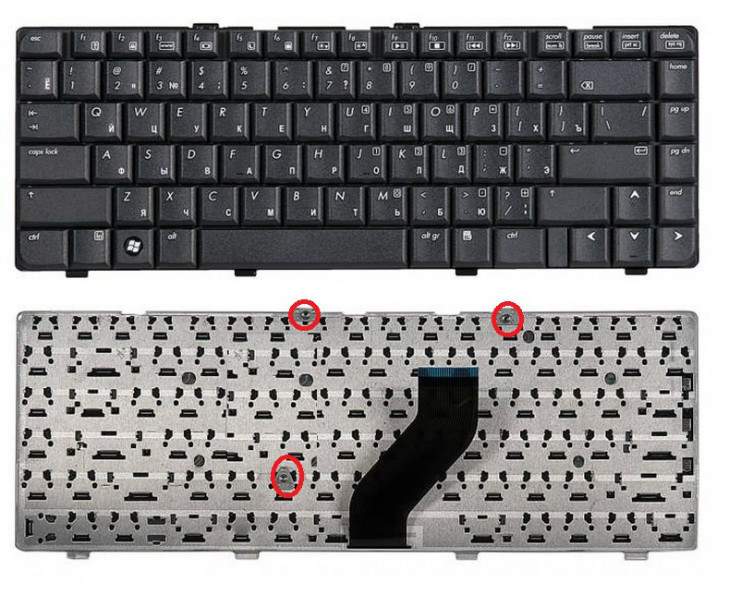 Клавиатура для ноутбука HP Pavilion dv6000, dv6013ea, dv6102ea, dv6127ea, dv6220eu, dv6231ea, dv6251eu, dv6362ea, dv6700, dv6812er, dv6820er, dv6830er, dv6840er, dv6899er, dv6960er