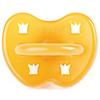 Соска-пустышка круглая из натурального каучука (латекса) 3+ месяца Crown