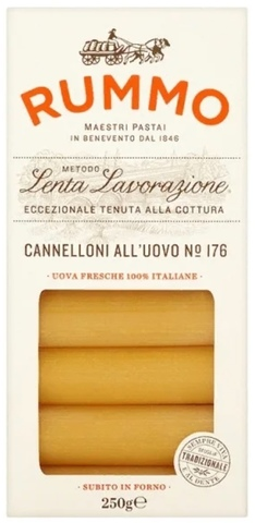 RUMMO Макароны Cannelloni all'uovo №176, 250 г