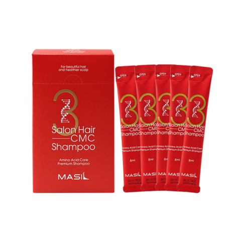 Восстанавливающий шампунь с аминокислотами MASIL Salon Hair CMC Shampoo travel